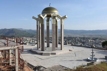 ساماندهی مقبره شهدای گمنام یاسوج