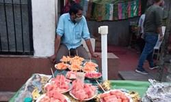 بازارهای ماه رمضان کشمیر در روزهای کرونایی + تصاویر