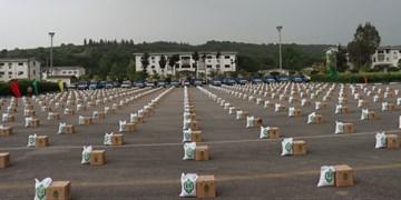 توزیع ۱۰ هزار بسته معیشتی در بین نیازمندان و افراد آسیب دیده از کرونا در مازندران