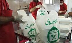 خیرین گچسارانی یاریگر کمیته امداد در طرح اطعام مهدوی/از توزیع غذای گرم تا بسته های کمک معیشتی در ماه مبارک رمضان