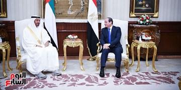 السیسی در دیدار با بن زاید: با هر گونه اقدامی برای بیثبات کردن منطقه مخالفیم