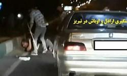 فیلم/تصاویری از دستگیری اراذل و اوباش در تبریز و اعترافهای آنها