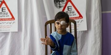 آغاز طرح سنجش بینایی کودکان ۳تا ۶ سال در سمنان