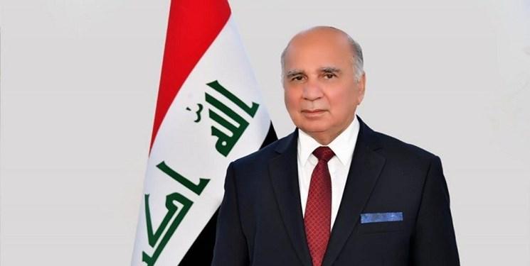 وزیرخارجه عراق برای گفتوگوهای راهبردی بغداد-واشنگتن وارد آمریکا شد
