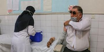 گزارش تصویری| آغاز واکسیناسیون جانبازان  بالای۵۰درصد در خراسان رضوی