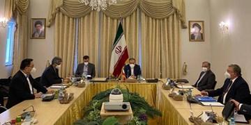 نشست سه جانبه هماهنگی بین روسای هیأتهای ایران، روسیه و چین در وین
