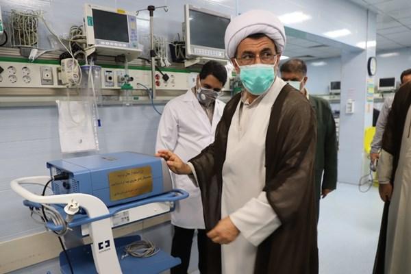 14000207000696 Test PhotoL - خرید و تحویل ۸ دستگاه درمانی از محل وقف برای بیمارستان امام ساری