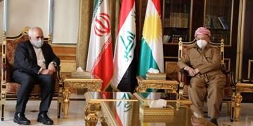 ظریف با مسعود بارزانی دیدار کرد