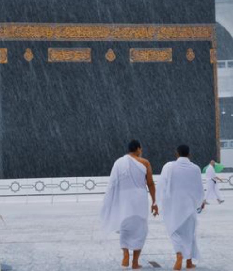 14000208000422 Test NewPhotoFree - بارش تگرگ در مسجدالحرام+عکس و فیلم