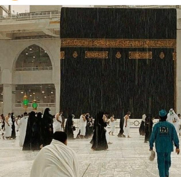 14000208000433 Test NewPhotoFree - بارش تگرگ در مسجدالحرام+عکس و فیلم
