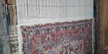 بافت فرش دستبافت در روستای کلات اسفراین