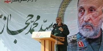 سرلشکر سلامی: شهید حجازی در سختیهای نبرد آرامشش را از دست نمیداد