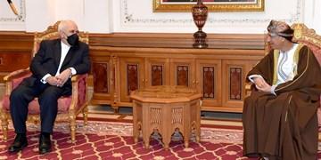محمد جواد ظریف و معاون نخست وزیر عمان دیدار کردند