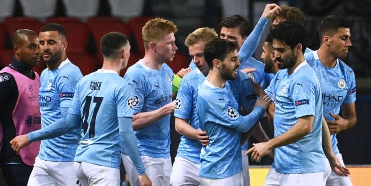 نیمه نهایی لیگ قهرمانان اروپا| منچسترسیتی به فینال رسید/ ناکامی دوباره پاریسی ها