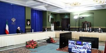 2 پروژه مهم آب در هرمزگان با دستور روحانی افتتاح شد