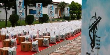 توزيع كمك مومنانه در نوشهر