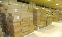 کشف 14 میلیون جفت دستکش لاتکس احتکار شده در بستان آباد