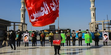 تعویض پرچم و شستشوی گنبد ||| مسجد مقدس جمکران