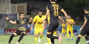 یک هشتم جام حذفی| توقف سپاهان مقابل تیم دسته اولی در پایان 90 دقیقه/بازی به وقت اضافه کشیده شد