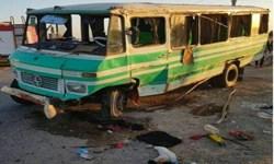 یک کشته و 9 مصدوم در تصادف جاده رامشیر بندرماهشهر