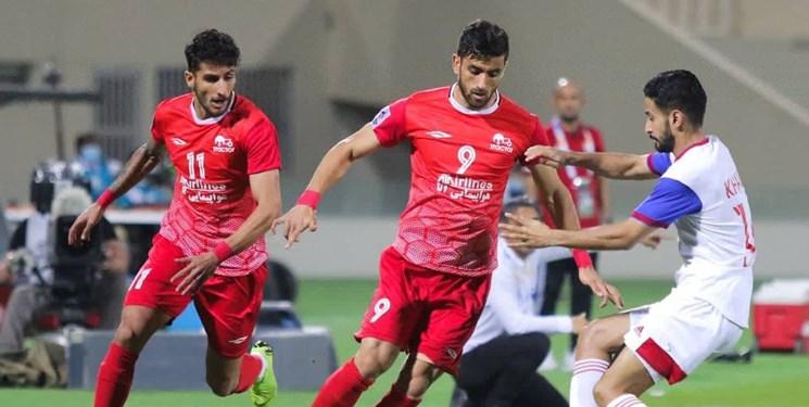 لیگ قهرمانان آسیا  شکست یک نیمهای تراکتور مقابل النصر