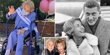 درگذشت «آن داگلاس» تهیه کننده هالیوودی در 102 سالگی