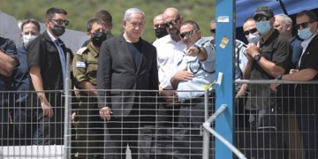 «هو» شدن نتانیاهو هنگام حضور در صحنه حادثه مرگبار در فلسطین اشغالی