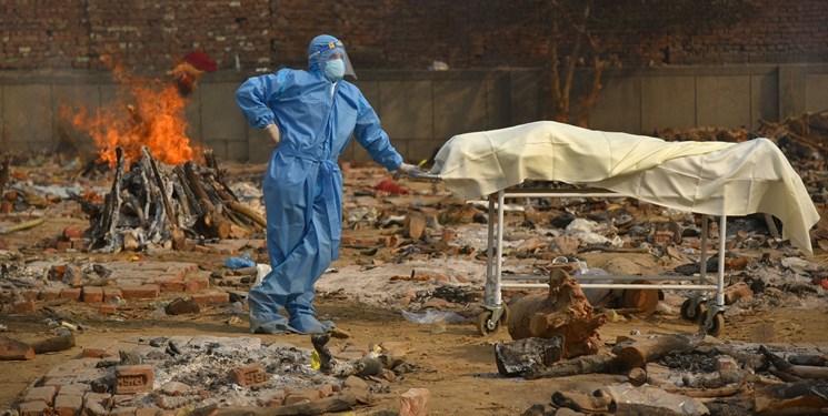 ظرفیت اماکن سوزاندن اجساد در هند تکمیل شده است