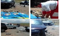 گردنه پشته در جاده یاسوج- سمیرم باز هم حادثه آفرید