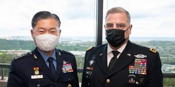 دیدار رؤسای ستاد ارتش آمریکا، کره جنوبی و ژاپن