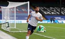 لیگ برتر انگلیس|منچستر سیتی در آستانه قهرمانی قرار گرفت