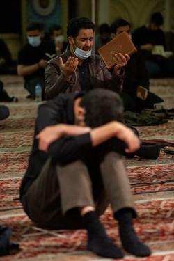مراسم احیای شب نوزدهم در مسجد امام صادق(ع)