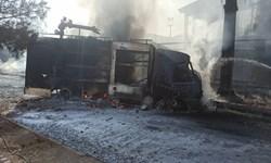 اطفاء حریق گسترده شهرک شکوهیه با تلاش 150 آتشنشان