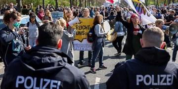 بازداشت و سرکوب تظاهرات روز کارگر در آلمان، فرانسه و ترکیه+عکس
