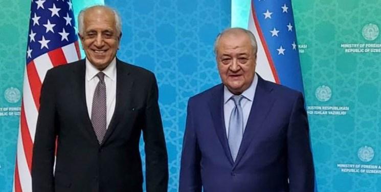 اوضاع افغانستان محور دیدار «خلیلزاد» با وزیر خارجه ازبکستان