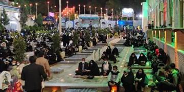 فیلم  لیلةالقدر کرمانیها در گلزار شهدا