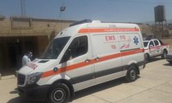 اورژانس قلعهرئیسی مجهز به آمبولانس پیشرفته شد+تصویر