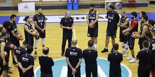 تمرین تیم ملی بسکتبال با ترکیب کامل+عکس