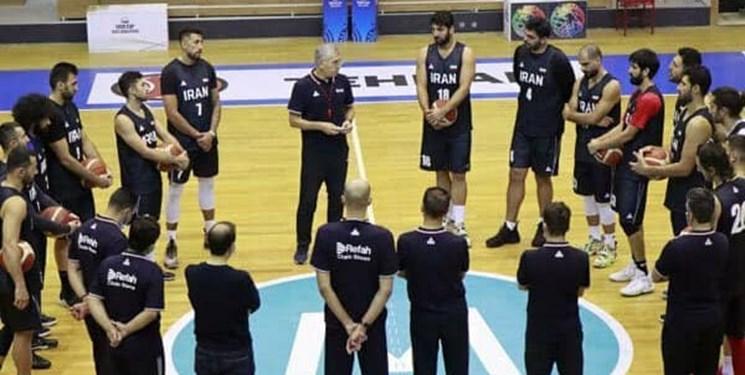 پایان اردوی تیمملی بسکتبال برای المپیک/بلندقامتان در راه  توکیو+تصاویر