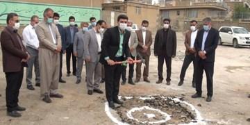 احداث مدرسه خیرساز مهر ایران در سقز کلنگزنی شد
