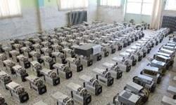 121 دستگاه ماینر قاچاق در کارگاه لامپ سازی در شهرک صنعتی تبریز
