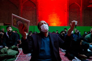 احیای شب بیست و یکم ماه رمضان در تبریز