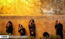 گزارش تصویری| مراسم احیای شب بیست و یکم ماه رمضان در حرم مطهر رضوی
