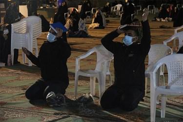 احیای شب 21 ماه رمضان در مصلی کرمان