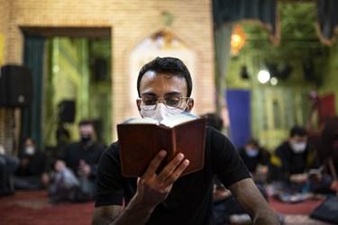 مراسم احیای شب بیست و یکم  رمضان1442  در هیئت ریحانه النبی (س) مسجد گیاهی تجریش