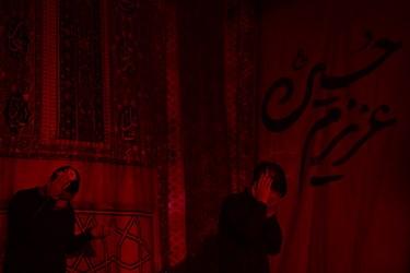 مراسم احیای شب بیست و یکم  رمضان1442  در هیئت ریحانه النبی (س) مسجد گیاهی تجریش با حضور عاشقان خاندان عصمت و طهارت علیه السلام