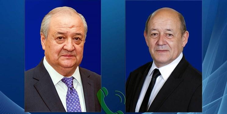 همکاری بازرگانی محور رایزنی وزرای خارجه ازبکستان و فرانسه