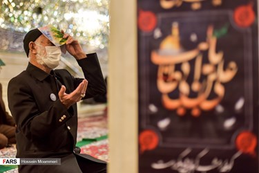 احیای شب بیستویکم در آستان امامزاده سید عباس(ع) بجنورد