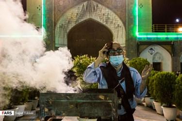 مراسم احیای شب بیست و یکم ماه مبارک رمضان در حرم حضرت عبدالعظیم حسنی (ع)