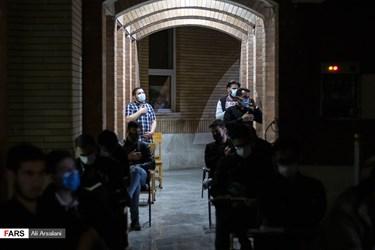 احیای شب بیستویکم در حیاط دبیرستان الزهرا و محوطه فرهنگسرای قرآن و عترت ارومیه